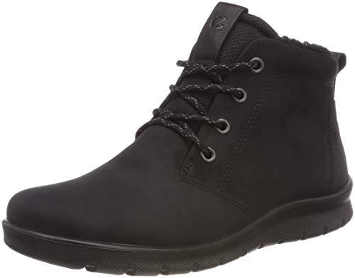 ECCO Damen Babett Boot Sneaker, Black 12001, 38 EU